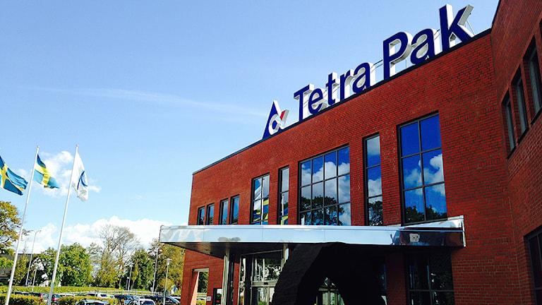 Tetra Paks anläggning i Lund. Foto: Annika Nilsson/Sveriges Radio