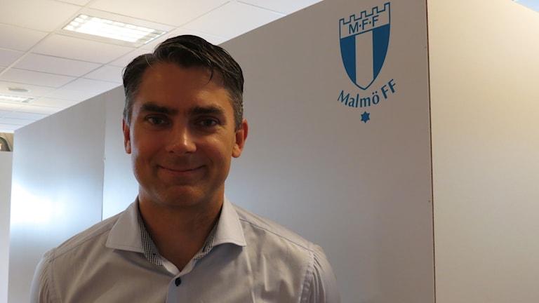 Niclas Carlnén, vd för Malmö FF