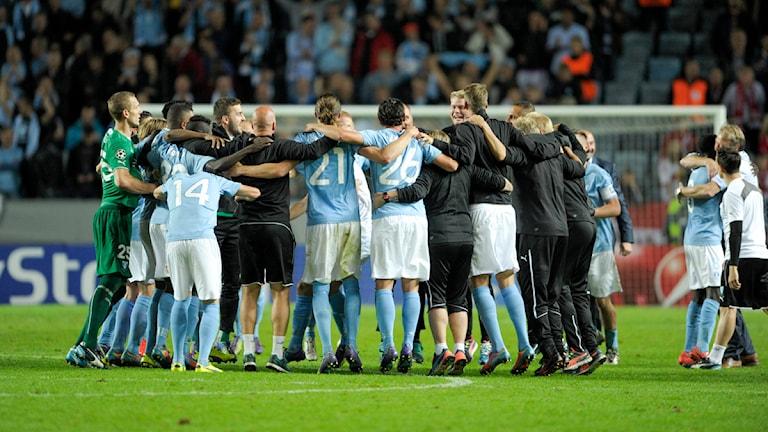 Malmö FF. Foto: Björn Lindgren/TT