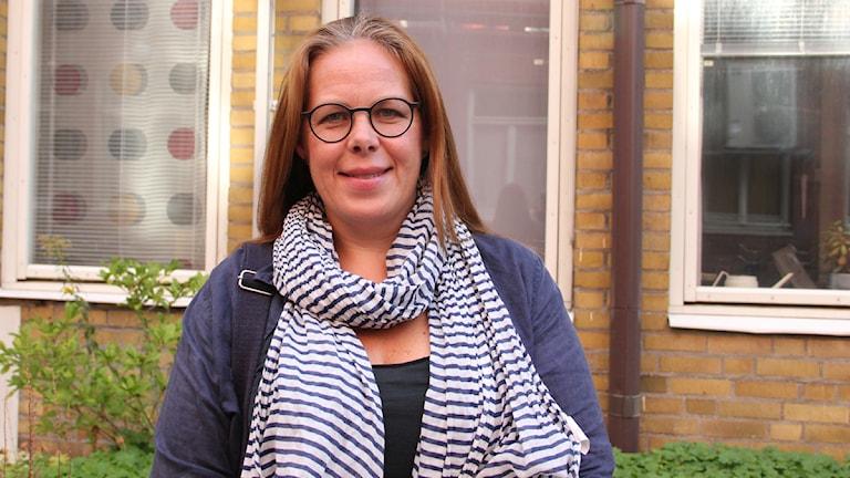 Petra Brylander, vd för Malmö Stadsteater. Foto: Sandra Svensson/Sveriges Radio