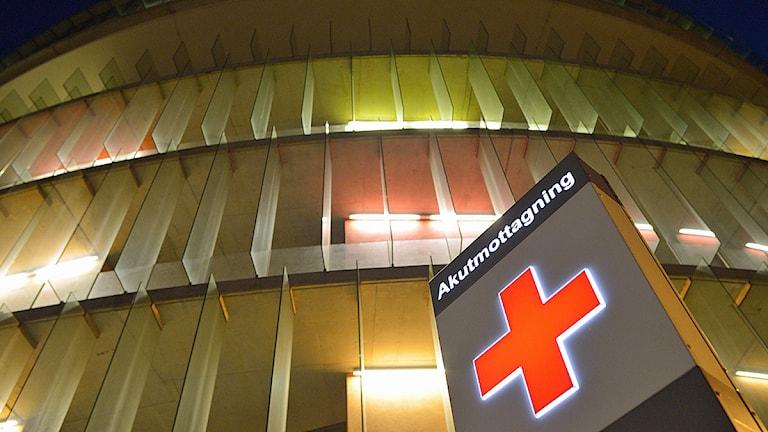 Akutmottagningen på Skånes universitetssjukhus i Malmö. Foto: Johan Nilsson/TT