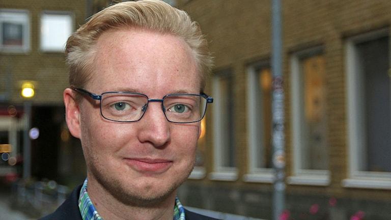 Torbjörn Tegnhammar(M), nytt kommunalråd i Malmö. Foto: Jan Wieslander/Sveriges Radio