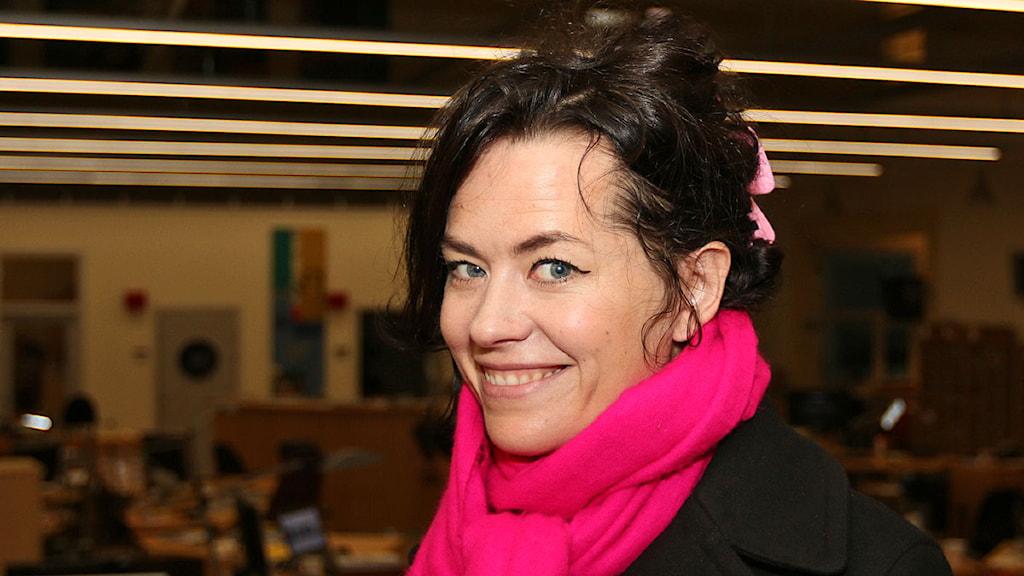 Liv Strömqvist, aktuell med nytt seriealbum. Foto: Jan Wieslander/Sveriges Radio