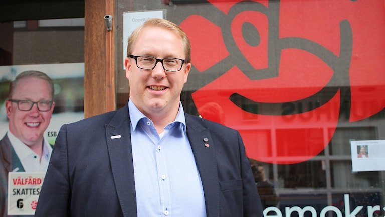Socialdemokraten Pierre Esbjörnsson