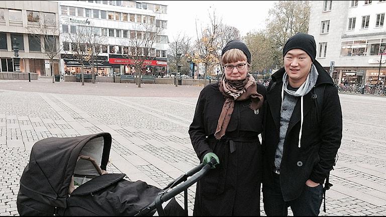 Amelie och Henrik Othén. Foto: Madeleine Fritsch-Lärka.