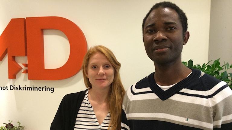 Hassan Kargbo överklagade med hjälp av juristen Karin Henrikz. Foto: Anna Bubenko/Sveriges Radio.