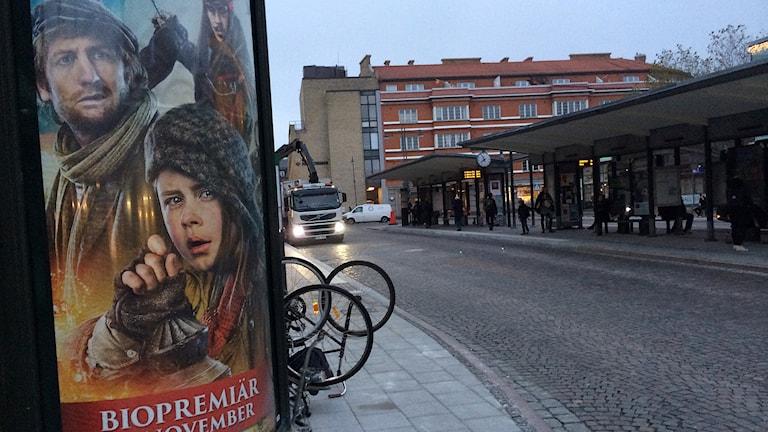 Reklamskyltar vållar politisk debatt i Lund. Foto: Anna Bubenko/Sveriges Radio