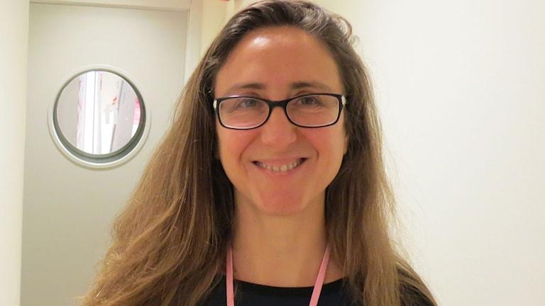 Paula Bustos Castro. Foto: Johanna Hellström/Sveriges Radio