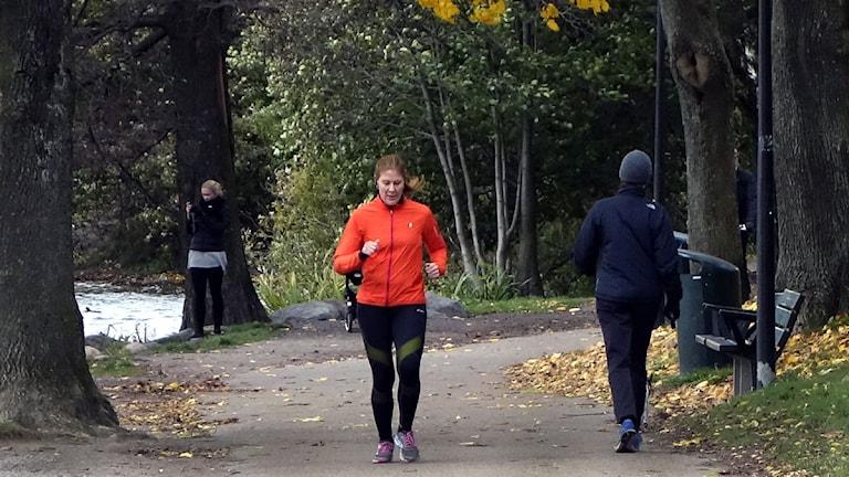 Livsstil. Jogging, Foto:Hasse Holmberg/TT