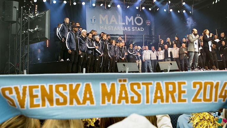 MFF och FC Rosengård. Foto: Drago Prvulovic/TT