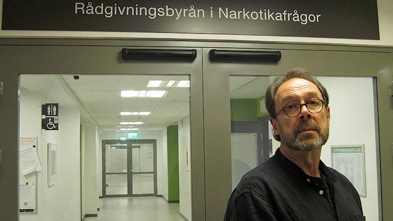 Thomas Lundqvist, psykolog, Rådgivningsbyrån i narkoktikafrågor Foto: Svjetlana Pastuhovic/Sveriges Radio