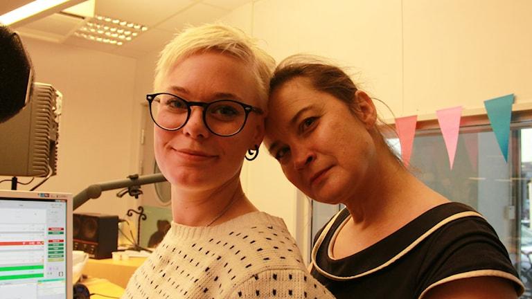 Pernilla Lind och Bodil Johansson
