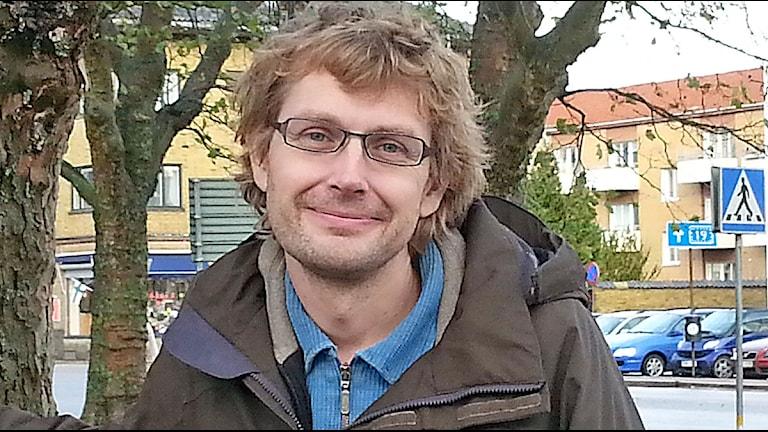 Nicklas Ljungström (MP). Foto: Malin Thelin/Sveriges Radio.