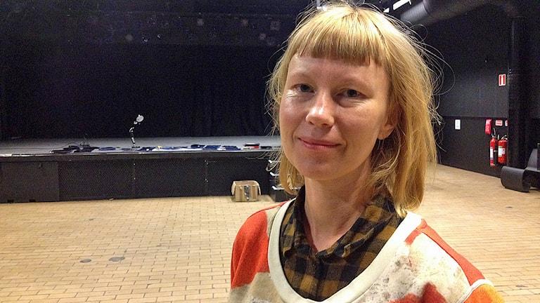 Jennie Järvå, verksamhetsledare, kulturhuset Inkonst, Malmö Foto: David Richter/Sveriges Radio