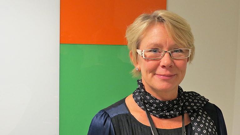 Kristina Hwargård, enhetschef för HR på Migrationsverket i Malmö. Foto: Petra Haupt/Sveriges Radio