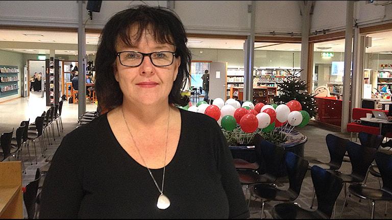 Karin Bergendorff, chef på Stadsbiblioteket i Lund