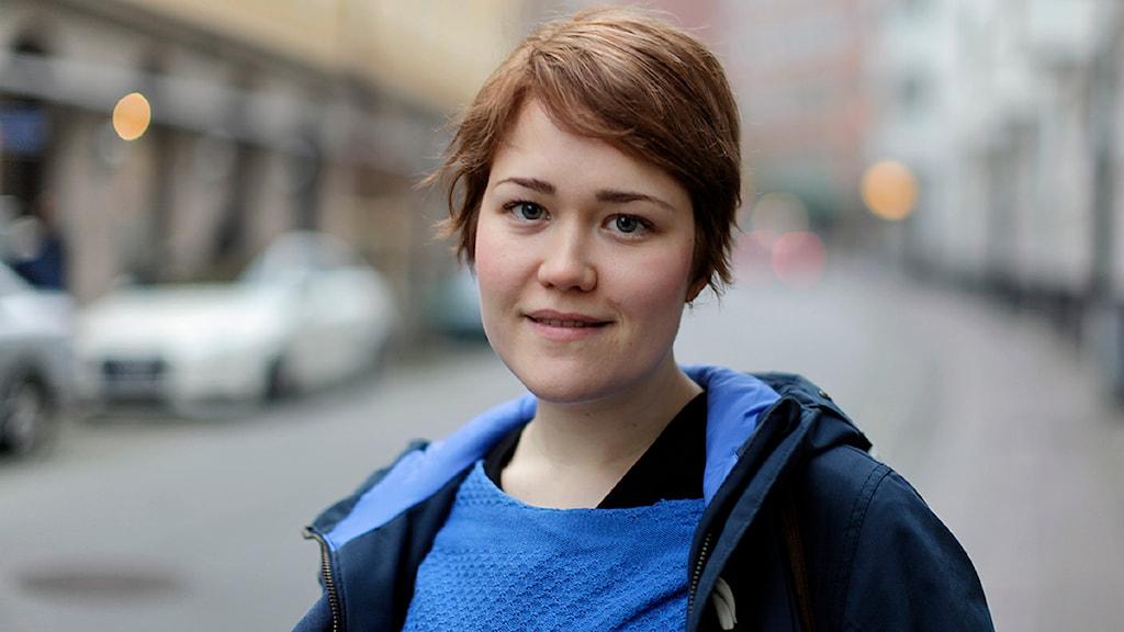 Malin Stenborg, opinionsbildare, Hyresgästföreningen Foto: Karin Olsson-Bendix/Sveriges Radio