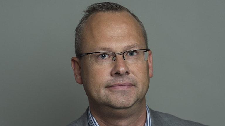 Patrik Jönsson, politiker, riksdagsledamot för Sverigedemokraterna. Foto: Jonas Ekströmer / TT