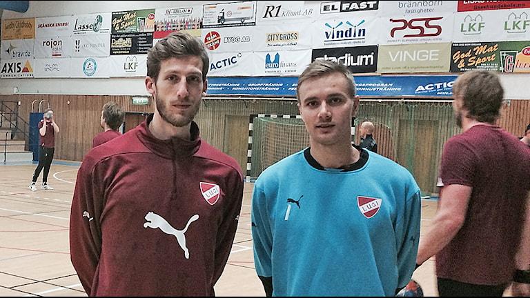 Albin Tingsvall och Espen Christensen. Foto: Madeleine Fritsch-Lärka/Sveriges Radio