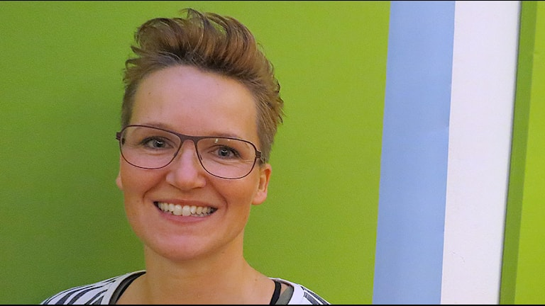Anna Jensen firar julen med gott samvete. Foto: Johanna Hellström/Sveriges Radio