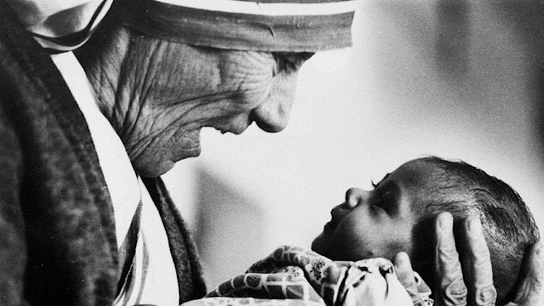 Moder Teresa.Foto: Addie Adams AP/TT