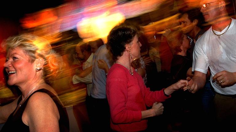 Dansande par. Foto: Fredrik Persson/TT