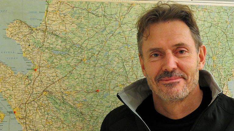 Poul Kongstad, verksamhetschef för den regionala ambulanssjukvården i Skåne. Foto: Petra Haupt/Sveriges Radio