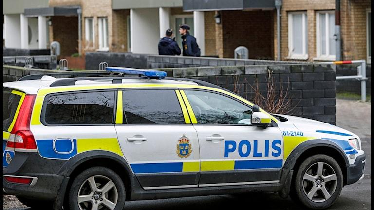 Ett nytt sprängdåd inträffade i Rosengård i Malmö på julafton.Foto: Stig-Åke Jönsson / TT