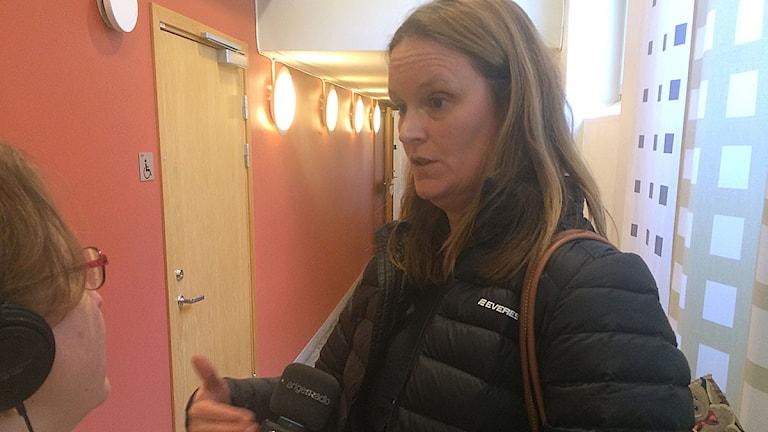 Jenny Lindell, vice chefsåklagare. Foto: Dimitri Lennartsson/Sveriges Radio