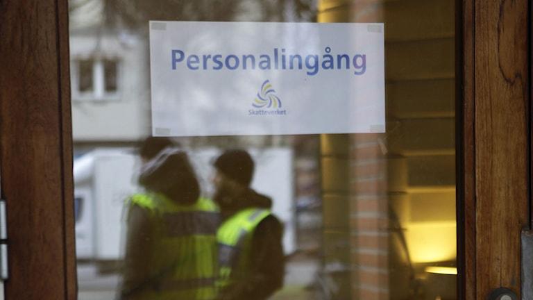 Även Skatteverkets lokaler i Malmö spärrades av.