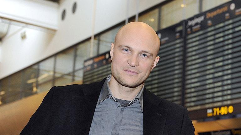 Fredrik Önnevall. Foto: SVT Bild