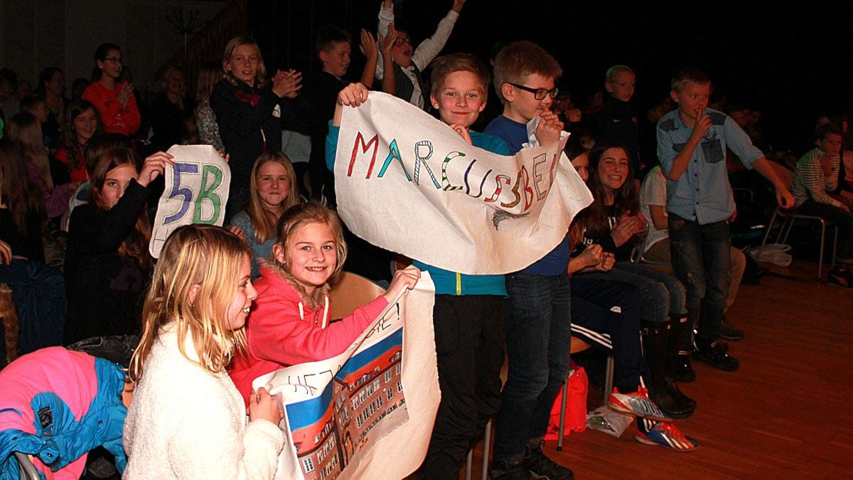 Husieskolan från Malmö segrade. Foto: Lars Ekman/Sveriges Radio