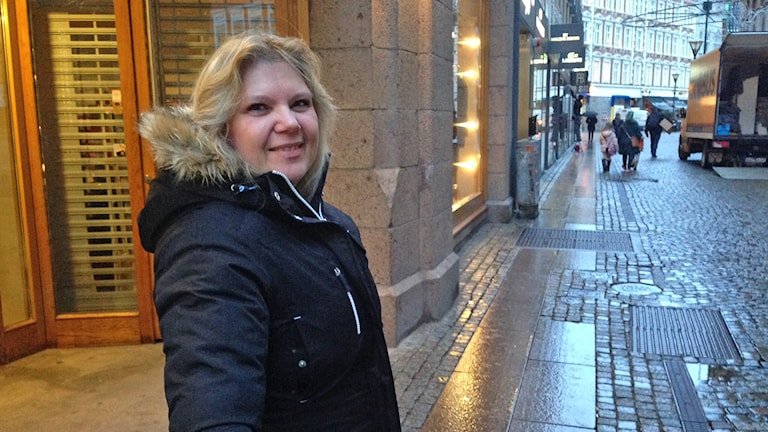 Jeanette Sundvall i Malmö som var med i enkät om januariekonomi. Foto: Edina Hrustic/Sveriges Radio