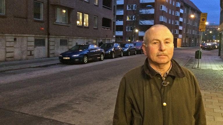 Jehoshua Kaufman, nyvald ordförande för judiska församlingen i Malmö. Foto: Anton Kalm/Sveriges Radio