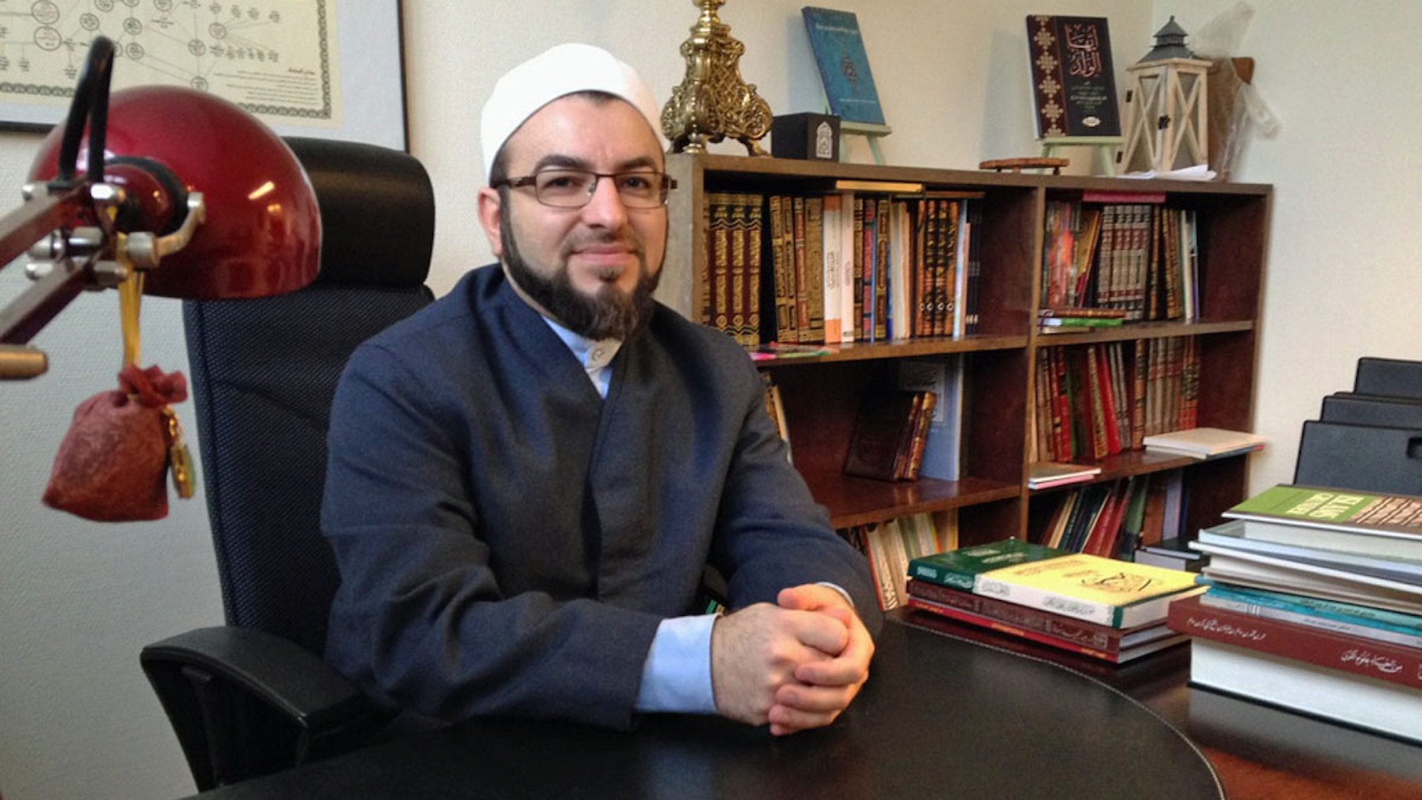 Salahuddin Barakat, grundare av Islamakademin