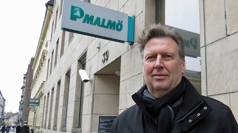 Bengt Hersler, avdelningschef Parkering Malmö Foto: Edina Hrustic/Sveriges Radio
