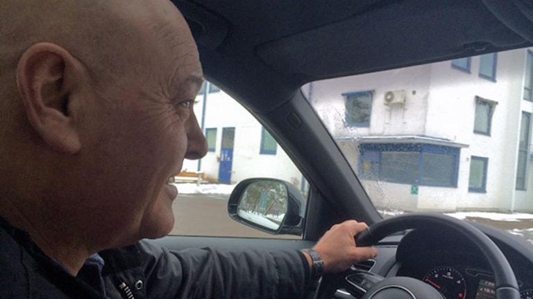 Peter Lindell, trafikskolelärare i Helsingborg. Foto: Anna Hanspers/Sveriges Radio