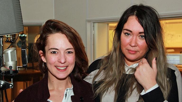 Anna Berghe och Johanna Nilsson har startat matklubben MAD i Malmö. Foto: Hans Zillén/Sveriges Radio