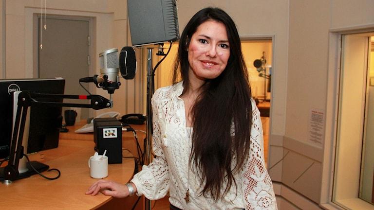 Vanessa Martinez. Foto: Sandra Martinsson/Sveriges Radio