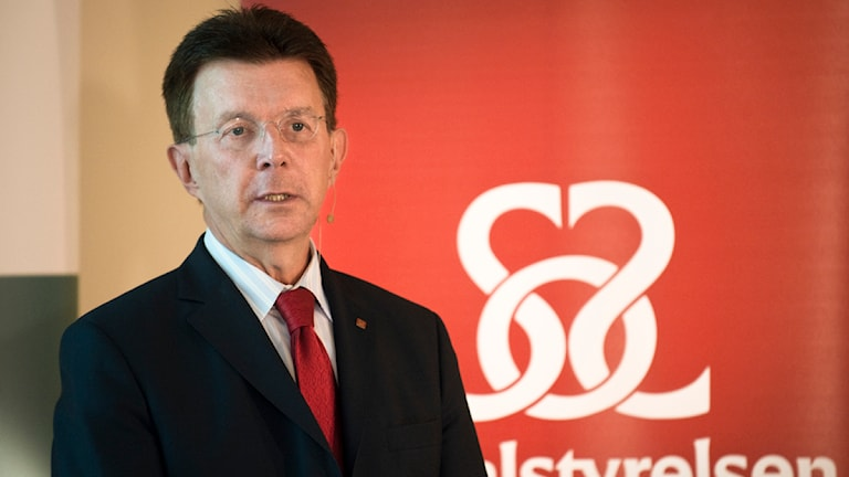 Lars-Erik Holm, generaldirektör för Socialstyrelsen och ordförande i Rikssjukvårdsnämnden. Foto: Fredrik Sandberg/TT