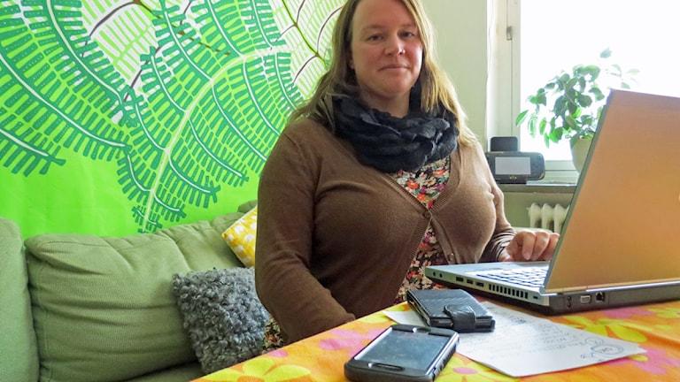 Hanna Ljungberg. Foto: Edina Hrustic/Sveriges Radio.