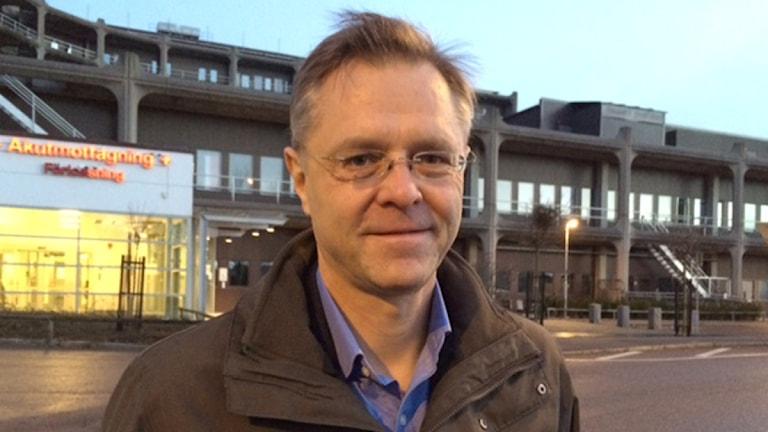 Björn Zackrisson, förvaltningschef Skånevård sund. Foto: Anna Hanspers/ Sveriges Radio