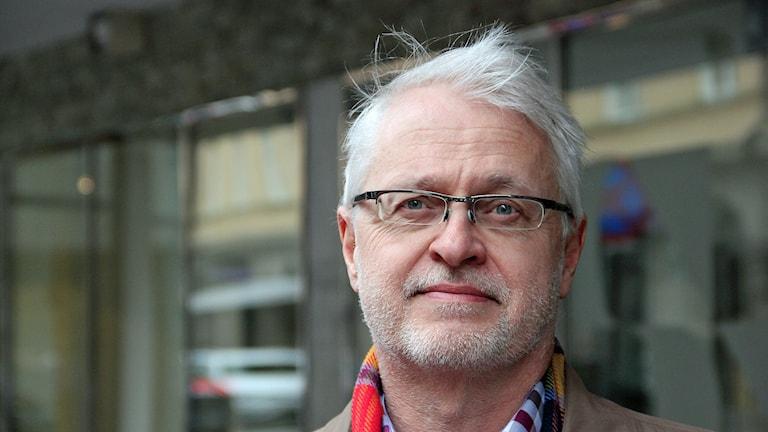 Lars Pålsson-Syll, doktor i nationalekonomi vid Malmö Högskola. Foto: Hans Zillén/Sveriges Radio