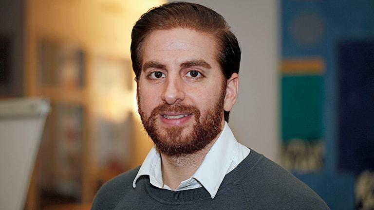 Jacob Youssuf är årets företagare i Malmö. Foto: Karin Olsson-Bendix/Sveriges Radio