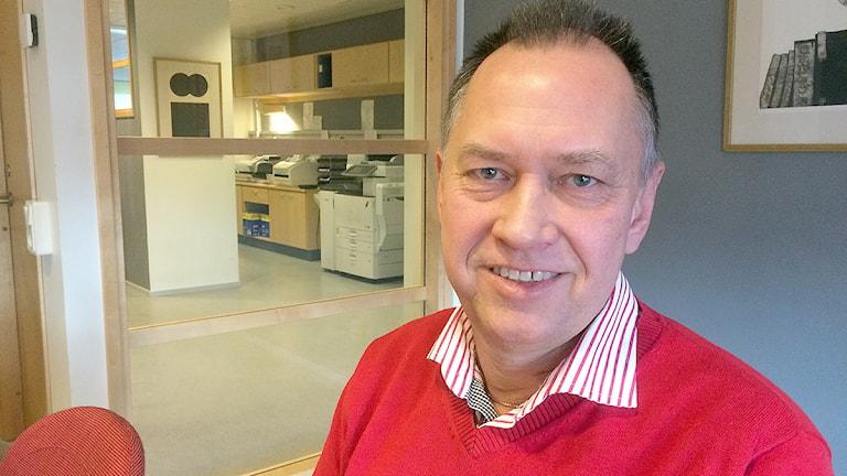 Stefan Hult, arbetsmiljöinspektör Arbetsmiljöverket Foto: Dimitri Lennartsson/Sveriges Radio