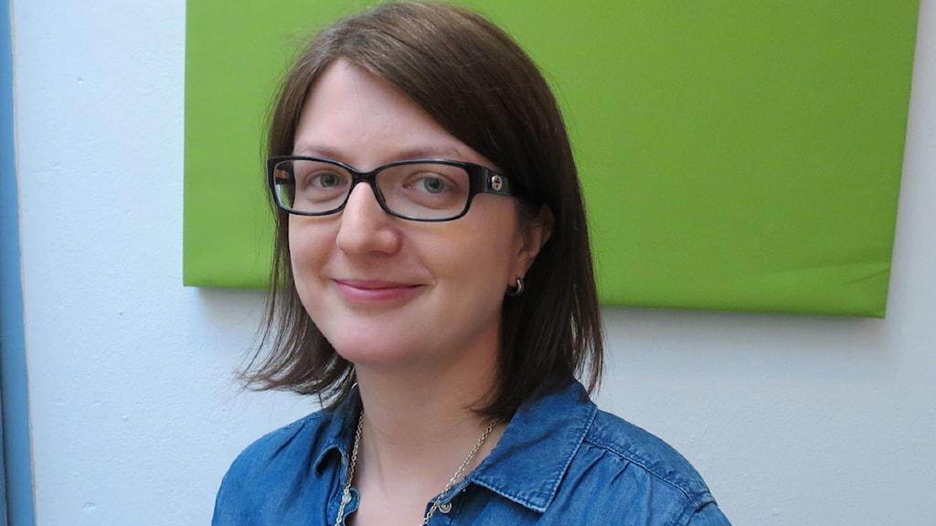 Susanne Holmberg. Foto: Gun Bergbring/Sveriges Radio