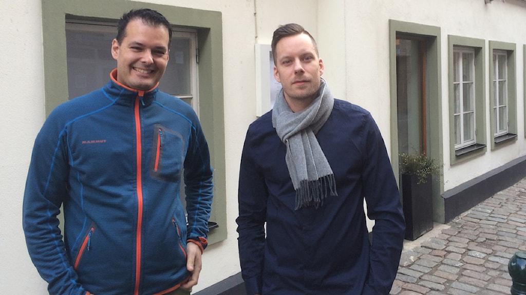Stjärnkockar, Mats Wollmer. Ebbe Wollmer. Foto: Anton Kalm/Sveriges Radio