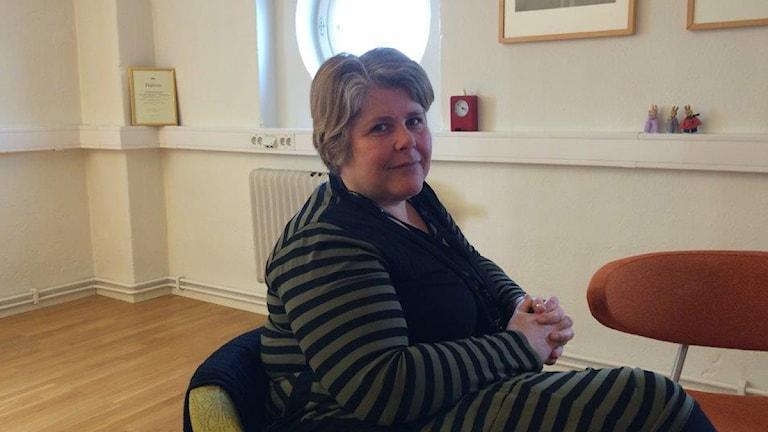 Susanne Lantz, verksamhetschef på Helsingborgs stad. Foto: Saffi Yucel/Sveriges Radio