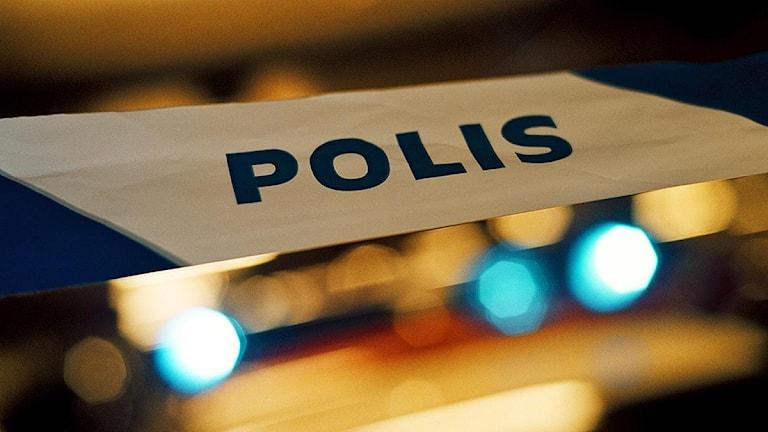 Polisavspärrning Foto: Marcus Lindblad/TT