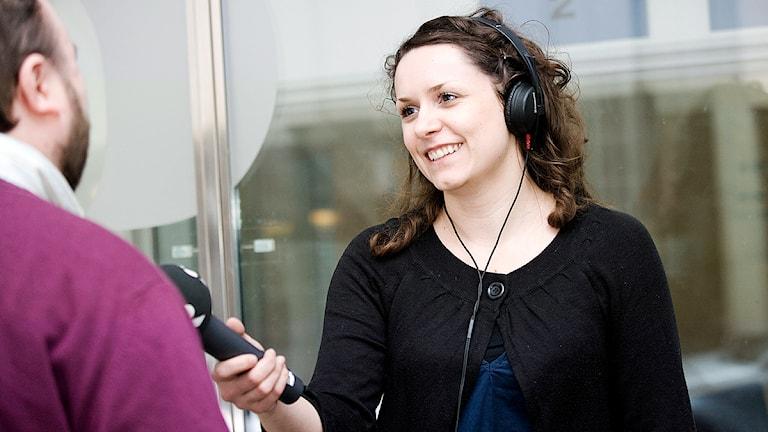 Svjetlana Pastuhovic, programledare och reporter på P4 Malmöhus. Foto: Sveriges Radio
